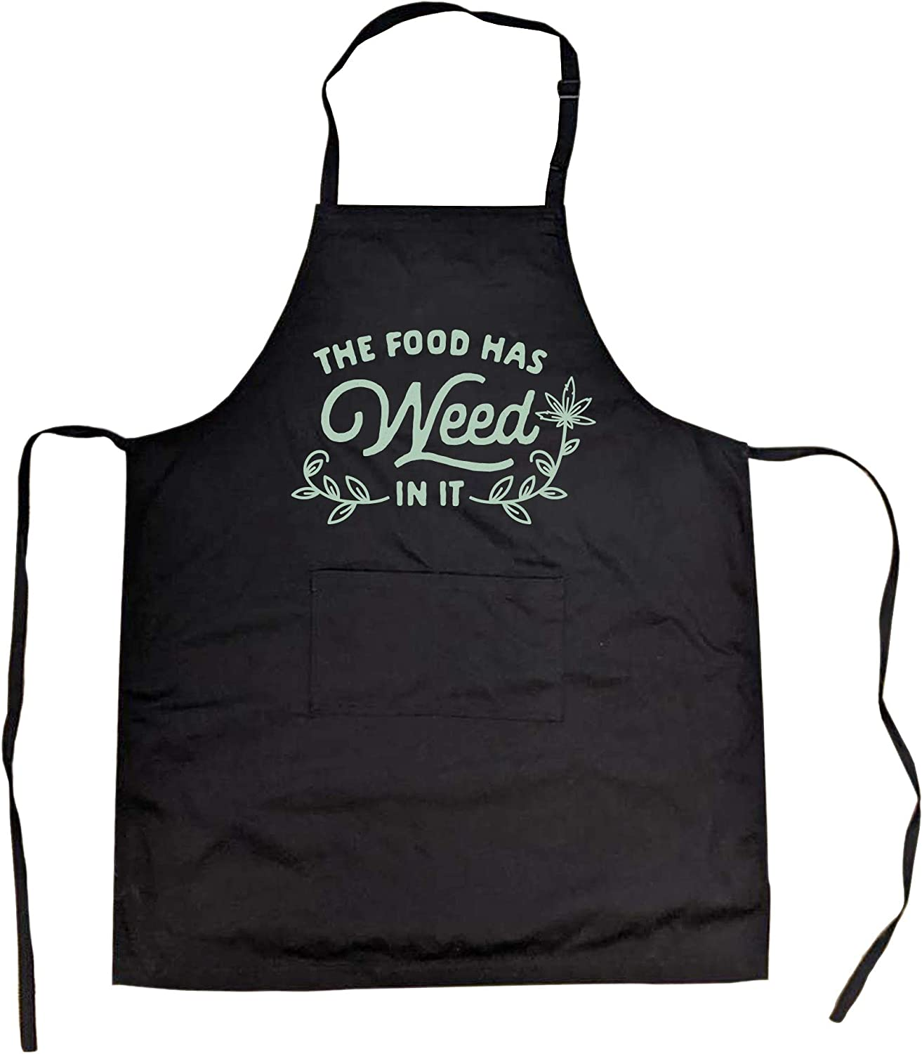 Crazy Dog T-Shirts Cookout Apron The Food in Has Sale special price 4 Funny Weed It Recommended
