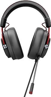 AOC GH300 - Auriculares Gaming para PC, PS4/PS5, SWITCH, Retroiluminación RGB, Conectividad USB2.0, Micrófono, Controles i...