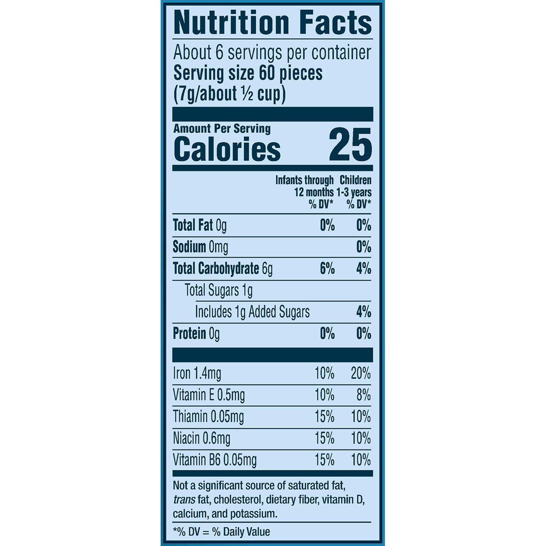 Gerber Blueberry Winter Puffs, 42 gm