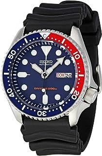 Seiko Men`s SKX009K1 Blue Dial Divers Watch