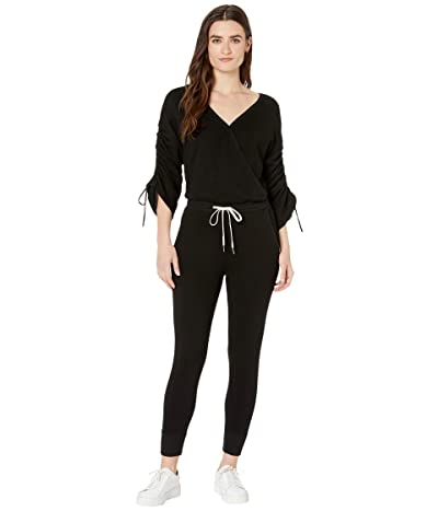 n:philanthropy Ketel Long Sleeve French Terry Jumpsuit (Black Cat) Women