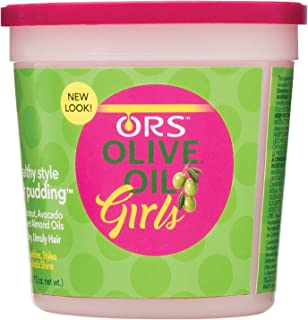ORS Olive Oil Girls Healthy Style Hair Pudding 13 oz (Pack of 2)