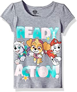 Nickelodeon Toddler Girls' Paw Patrol Ready for Action Short Sleeve T-Shirt