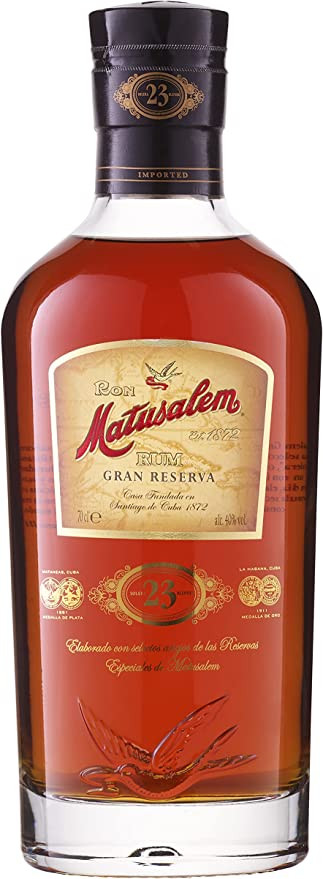 1414 opinioni per Matusalem Gran Reserva 23- Rum invecchiato in barili di quercia. Un blend di