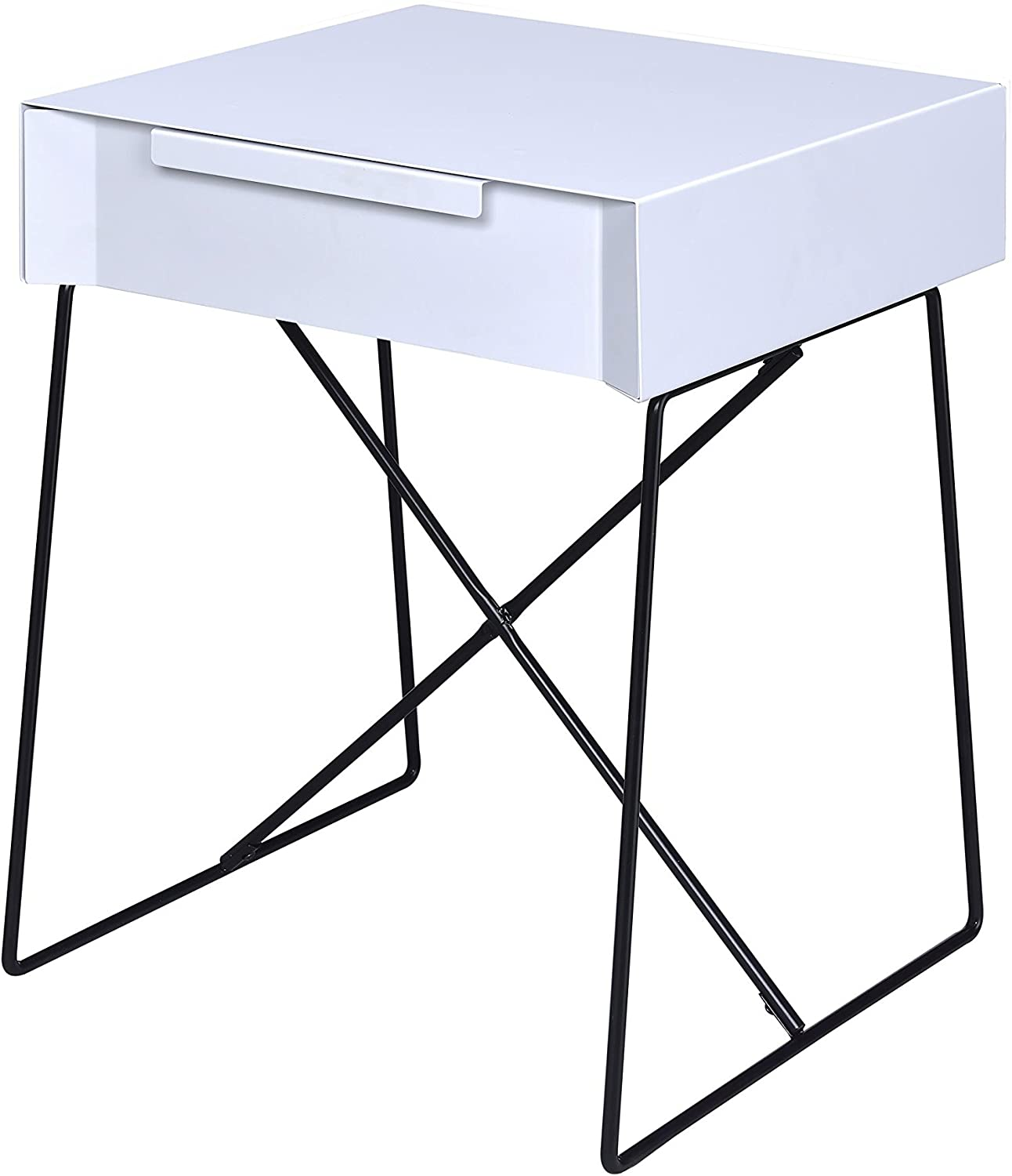 Acme Gualacao White End Table