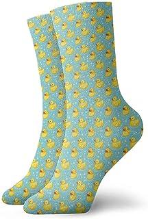 tyui7, Novedad Cool Crazy Funny Dress Calcetines - Bandera de Escocia con calcetines de la bandera de América - Regalos para hombres y mujeres