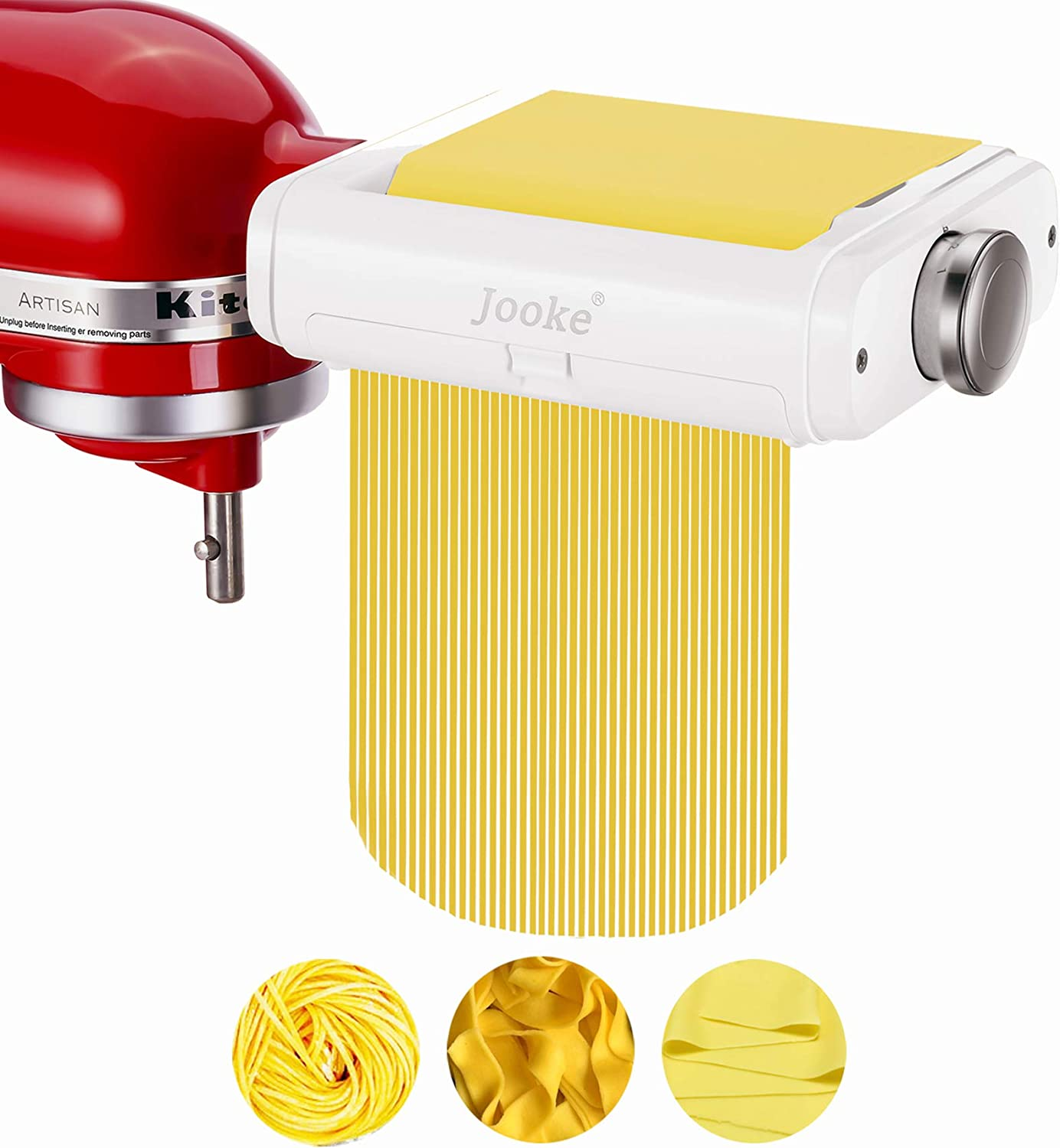 3 in New Shipping 100% quality warranty! Free 1 Pasta Maker Stand for Mixers,Cont KitchenAid Attachment
