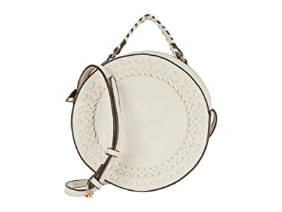 SOLE / SOCIETY Anora Crossbody (White) Bags