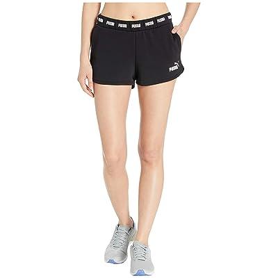 PUMA Amplified Shorts (Cotton Black) Women
