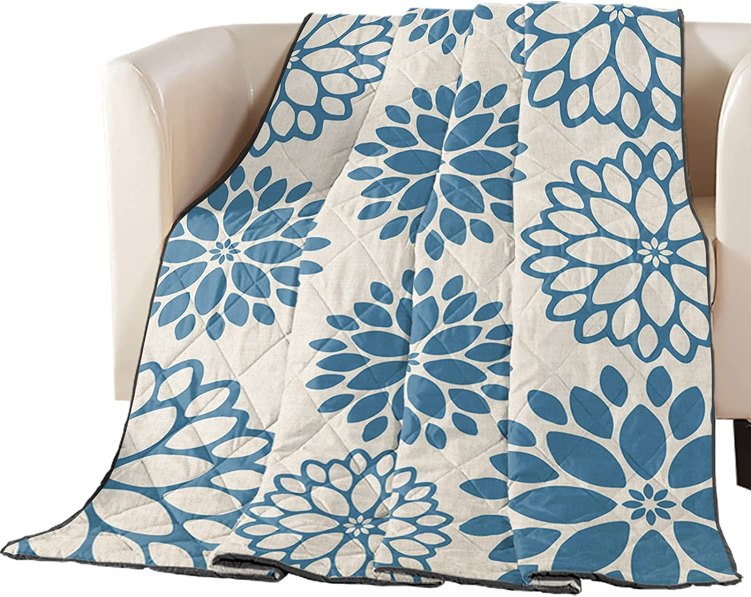 Thin Comforter Max 61% OFF Bedspread Throw Blanket Dahlia Pi Floral Abstract Max 58% OFF