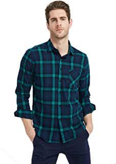 military plaid shirt