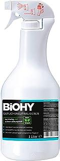 BiOHY Geur neutraliserend middel (1l Spray)   Extra sterke geurverwijderaar/vernietiger en luchtverfrisser   Tegen onaange...