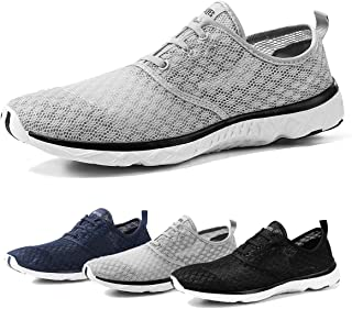 Water Shoes for Men Quick Drying Aqua Shoes Beach Pool Shoes