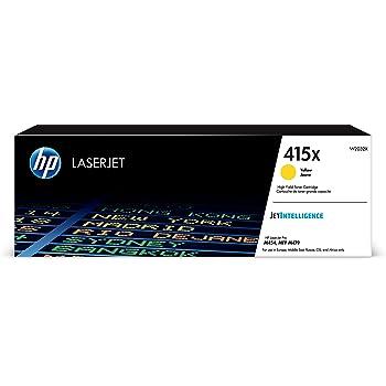 HP 415X - Cartucho de tóner XL, alta capacidad, para impresoras ...