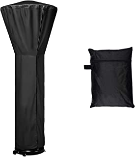 LDPF Patio Heater Covers Waterproof with Zipper Black,24 Months of use