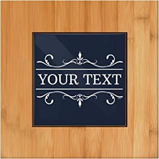 personalized tile trivets