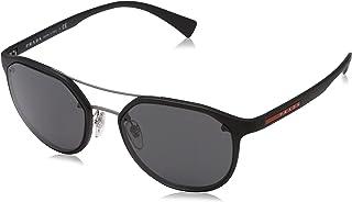 Prada - LINEA ROSSA 0PS 55SS Gafas de sol, Black, 53 para Hombre