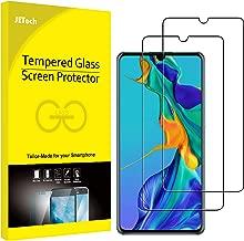 JETech Protection Écran Compatible avec Huawei P30 en Verre Trempé, Lot de 2