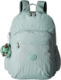 696525adc9 Kipling hiker large expandable backpack forest green | Shipped Free ...