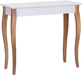 105 X 35 X 75 ZeroDueZero Tavolo Consolle Abete Bianco Spazzolato Stile Moderno Mis