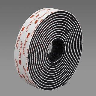 3M Dual Lock - flexibele druksluiting 3550TB blister, 25mm x 2,5m, zwart (1 stuks)