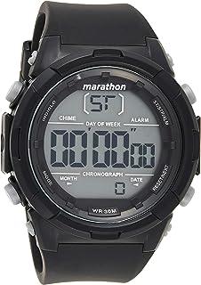 Timex Mens Quartz Watch, Digital Display and Resin Strap - TW5M32900