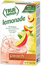 True Lemon Peach Lemonade 10 Count (Packaging may vary)