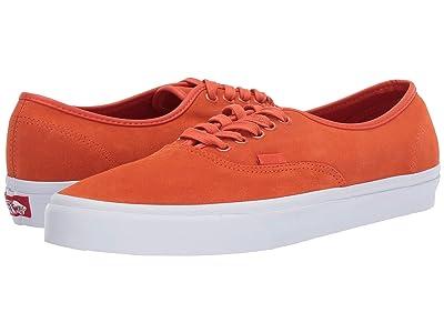 Vans Authentictm ((Soft Suede) Koi/True White) Skate Shoes