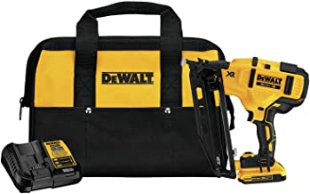 DEWALT DCN660D1 20V MAX XR 16 GA Angled Finish Nailer Kit