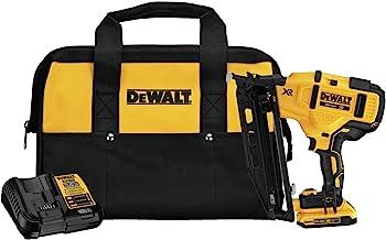 DEWALT 20V MAX XR Finish Nailer, Angled, 16GA (DCN660D1)