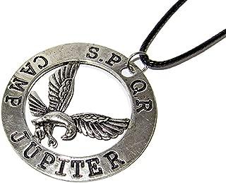 QueenGEEK Percy Jackson Camp Jupiter Eagle SPQR Pendant Necklace US SELLER