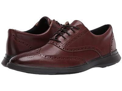 Clarks Un Lipari Ave (Mahogany Leather) Men