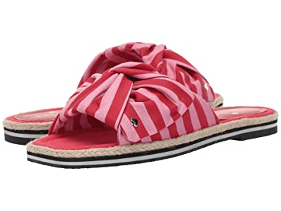 Kate Spade New York Caliana (Pink/Red Canvas) Women