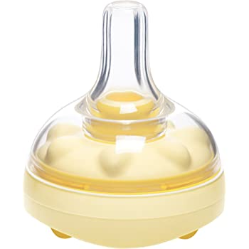 Medela Calma Breast Milk Bottle Nipple for Breastmilk Feeding, Mimics Natural Feeding, Compatible with All Medela Bottles Through Each Stage of Breast Milk Feeding, Made Without BPA