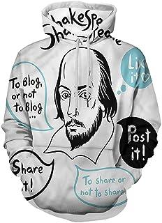 Funny Printed Hooded Sweatshirt Retro Hipster Bohemian Owls