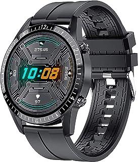 JessFash Reloj Inteligente Pantalla táctil Impermeable Fitness Reloj Deportivo Rastreador de Actividad Presión Arterial Ritmo cardíaco Monitor de sueño Podómetro Bluetooth Reloj de Pulsera