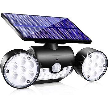 4 PACK Motion Sensor PIR Solar Powered LED Outdoor Security Wall Light Garden UP