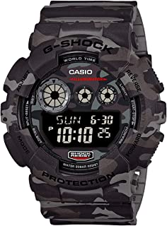 Casio G-Shock Men's Camouflage Digital Dial Resin Band Watch