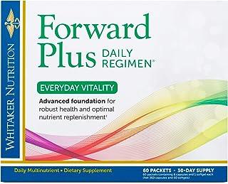 Dr. Whitaker's Forward Plus Daily Regimen - Comprehensive Multivitamin Supplement Supports Optimal Energy, Strength, Vital...