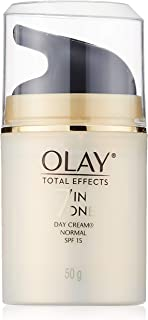OLAY TOTAL EFFECTS 7 IN 1 DAY CREAM NORMAL SPF15.. (1X 50 G / 50ml) ( by abobon )best sellers