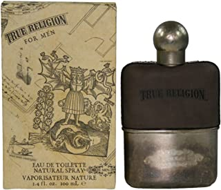 True Religion by True Religion for Men. Eau De Toilette Spray 3.4-Ounce
