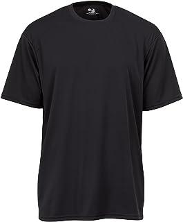 Badger Sportswear Men`s B-Dry Tee, Black, X-Large