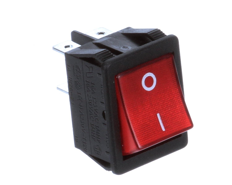 Thunderbird ARM-02-186-4 Louisville-Jefferson County Mall Rocker Selector Sale item Red