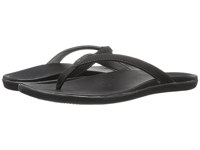 Ho'opio  Shoes (Onyx/Onyx) Women's Sandals