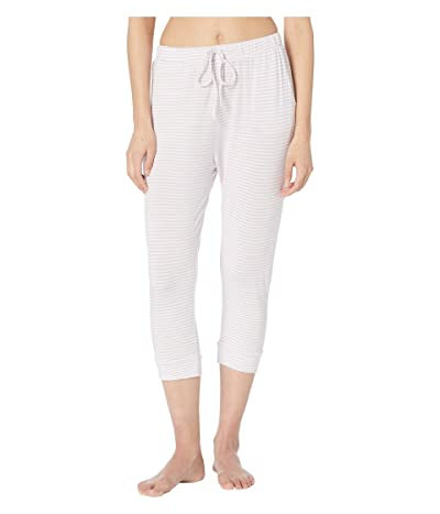 Eberjey Sadie Stripes The Marrakesh Pants (Ivory/Lavender Fog) Women