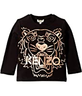 Kenzo Kids - Copper Tiger T-Shirt (Toddler/Little Kids)