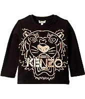 Kenzo Kids - Copper Tiger T-Shirt (Toddler/Little Kids)