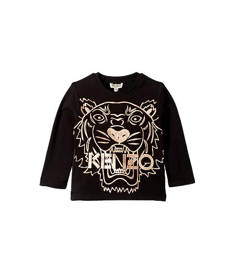 Kenzo Kids Copper Tiger T-Shirt (Toddler/Little Kids)