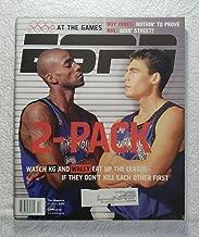 Kevin Garnett & Wally Szczerbiak - Minnesota Timberwolves - Watch KG & Wally Eat up the League, If They Don't Kill Each Other First - ESPN Magazine - March 4, 2002