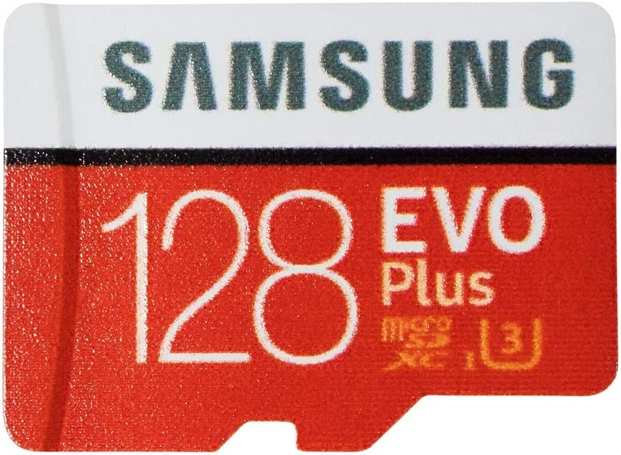 Samsung Evo Plus 128GB MicroSDXC Memory Card Works with DJI Mavic Air 2 Drone (MB-MC128H) Bundle with (1) Everything But Stromboli MicroSD Card Reader